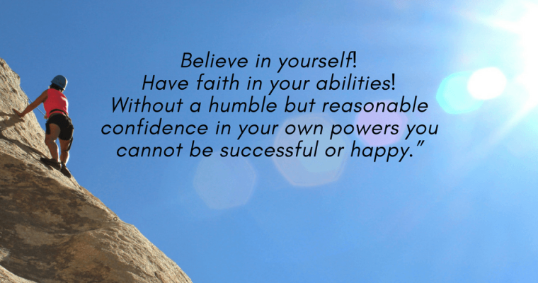 What Makes You Think Doubting Yourself Can Lead To Success?